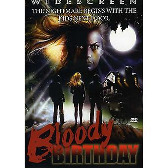 Importare sanguinosa compleanno [DVD] Stati Uniti d'America
