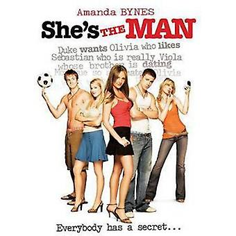 She's the Man [DVD] USA import