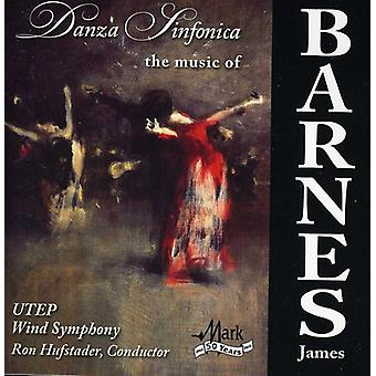 James Barnes - Danza Sinfonica: The Music of James Barnes [CD] USA import