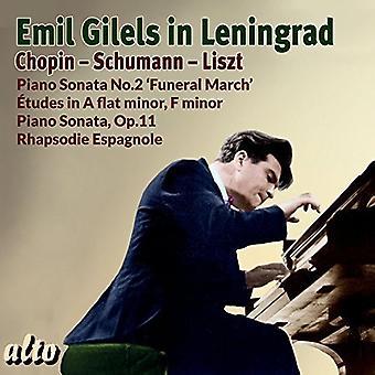 Emil Gilels - Emil Gilels in Leningrad [CD] USA import