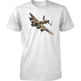 Lancaster RAF Bomber WWII - Kids T skjorte