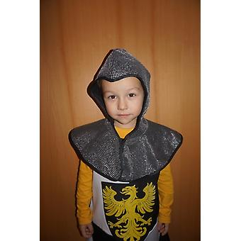 Knight dwarf chain hood child costume