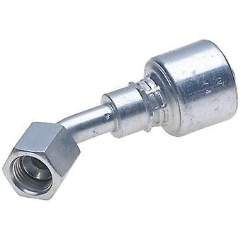 Gates G25175-2020 SAE to SAE Male Pipe NPTF to Male Pipe NPTF Adapter