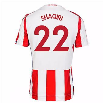 2017-18 Stoke City Home Shirt (Shaqiri 22)