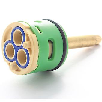 3 Way Shower Valve Flow Diverter Cartridge -  82.5mm Total Length