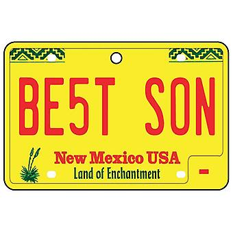 New Mexico - Best Son License Plate Car Air Freshener