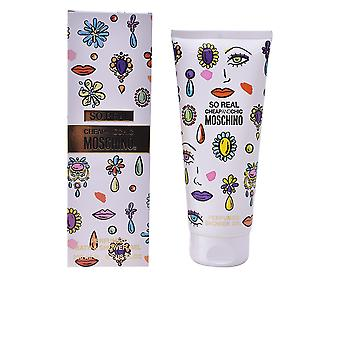 Moschino So Real Cheap And Chic Shower Gel 200ml Womens Sealed Boxed