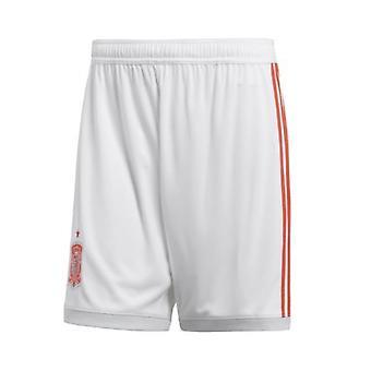 2018-2019 Spania away Adidas pantaloni scurți de fotbal (copii)