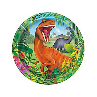 Dinosaurie plåtar 9€