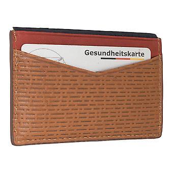 Cassa del cuoio uomo FOSSIL carta di credito titolare della titolare 6562