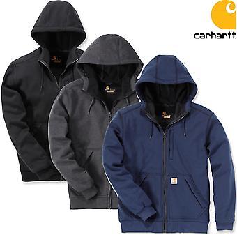 Lutador de vento de casaco Carhartt encapuzado
