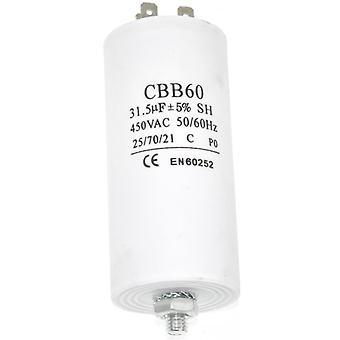 Condensador de funcionamiento del microfaradio 31.5UF universal aparato Motor arranque