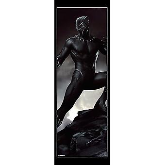 Puerta - impresión del cartel de pantera negra