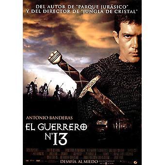 13th Warrior elokuvajuliste (11 x 17)