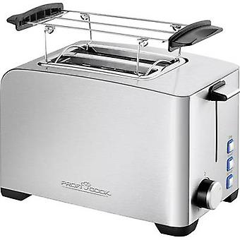 Profi Cook PC-TA 1082 Toaster with home baking attachment Stainless steel, Black