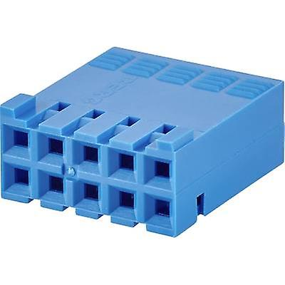 FCI Socket enclosure - cable Mini-PV Total number of pins 6 Contact spacing: 2.54 mm 65239-003LF 1 pc(s)