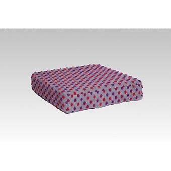 Booster seat kussen stand-up help zilverkleurige van 40 x 40 x 10 cm