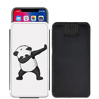 Citater panda Custom designet trykt trække fanen pose telefon tilfælde dække for Asus Zenfone Live ZB501KL [S] - Q04_web