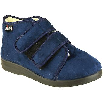 GBS Med Mens & Womens Torbay Extra Wide Insulated Slippers