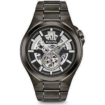 बुलोवा पुरुषों की घड़ी क्लासिक स्वचालित 98A179