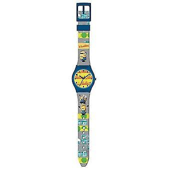 Schergen analoge Armbanduhr grau