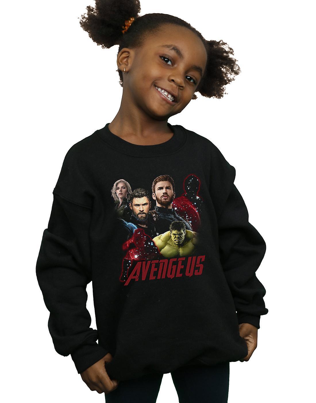Marvel Girls Avengers Infinity War The Fallen Sweatshirt