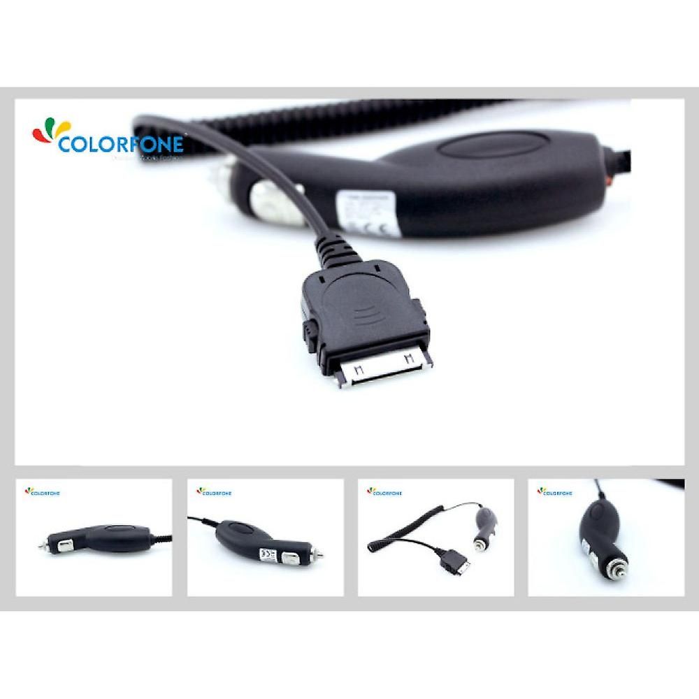 Colorfone car charger for iPad, iPod, iPhone 3 g/3GS/4/4S
