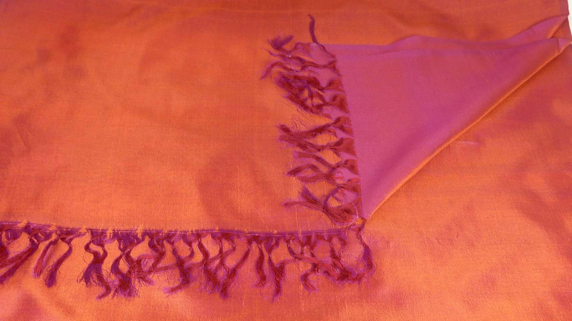 Varanasi Silk Long Scarf Heritage Range Balaji 2 by Pashmina & Silk