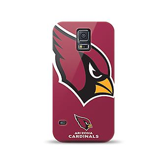 Mizco Sports NFL Oversized Snapback TPU Case for Samsung Galaxy S5 (Arizona Cardinals)