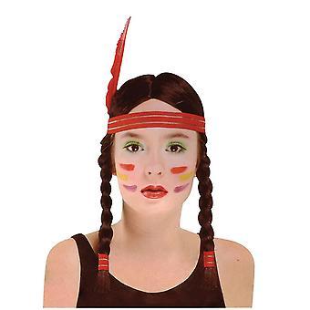 Indyjski Squaw Wig.