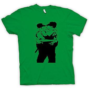 Kinder T-shirt - Banksy Graffiti-Kunst - Gay Polizei