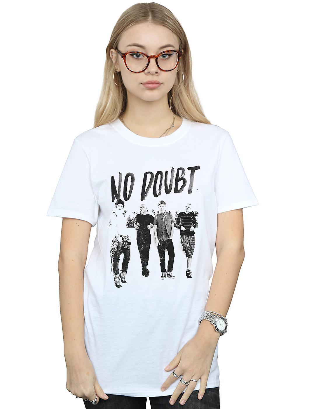 No Doubt Women's Rooftop Photo Boyfriend Fit T-Shirt