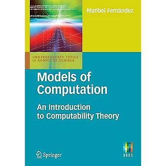 Models of Computation by Maribel Fernandez - 9781848824331 Book