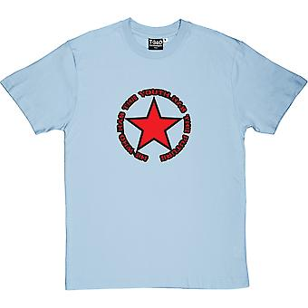 He Who Has The Youth Has The Future Light Blue Men's T-Shirt
