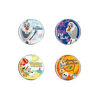 Set de Disney congelado botón Pin Pin BMulticoloured