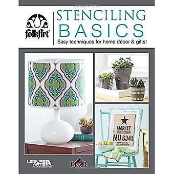 Stenciling Basics (Plaid Enterprises Inc)