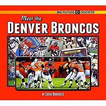 Möt Denver Broncos (stora bilden sport)