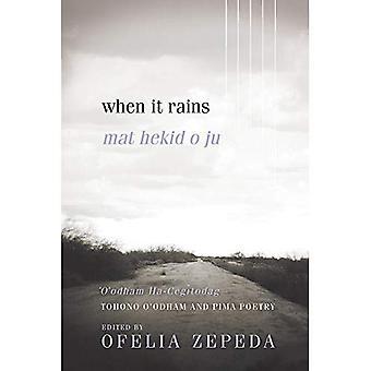 When It Rains: Tohono O'odham en Pima poëzie (zon Tracks)
