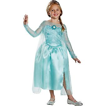 冷凍のエルザ子供用コスプレ衣装