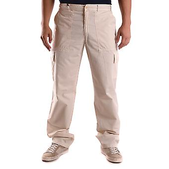 Alberto Aspesi Ezbc067095 Men's Beige Cotton Pants