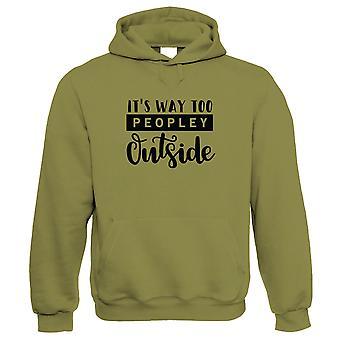 Het ' s manier te Town buiten hoodie-grappig cadeau hem haar