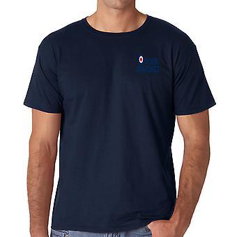 Logotipo da RAF - camisa de algodão T oficial da força aérea real