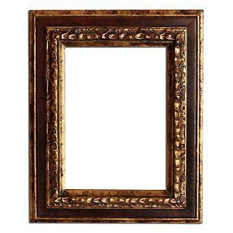 15x20 cm eller 6x8 tum, fotoram i guld