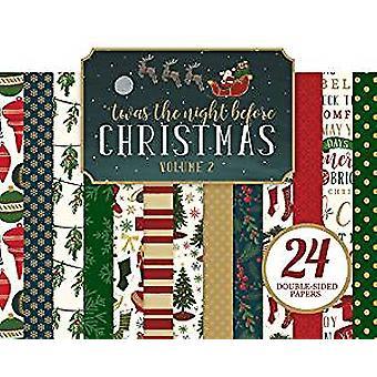 Echo Park Paper Twas The Night Before Christmas 6x6 Inch Paper Pad Vol. 1 (TNC134023)
