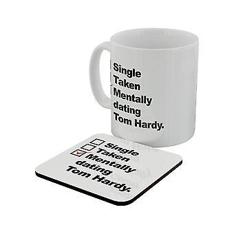 Grindstore mentale Dating Tom Hardy Mug & Coaster Set