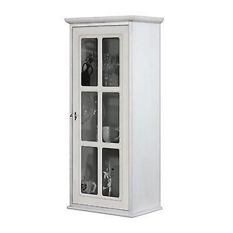 Gabinete de una sola puerta con parrilla