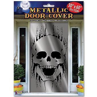 Bristol Novelty Metallic Skull Door Cover Bristol Novelty Metallic Skull Door Cover Bristol Novelty Metallic Skull Door Cover Bristol Novel