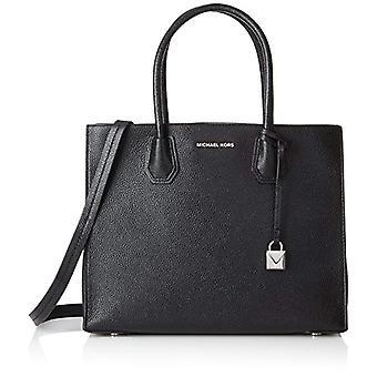Michael Kors Mercer Black Tote Black Bag 12.7x21.6x26 centimeters (W x H x L)