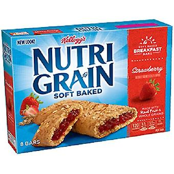 Nutri Grain Soft Baked Strawberry Breakfast Snack Bars