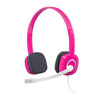 Logitech Stereo Headset - Fuchsia Pink